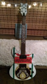 Schecter Tempest Jagermeister white guitar in Camp Lejeune, North Carolina