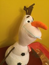 Sparkle Olaf Frozen plush/ stuffed doll Brand New with tags in Morris, Illinois