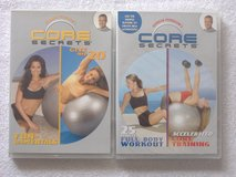 Gunnar Peterson's CORE SECRETS Workout DVD Lot in 29 Palms, California