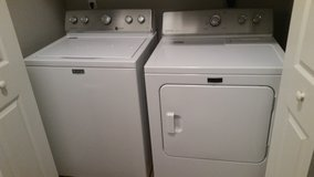 Washer + Dryer Set (Maytag, Like New) in Bellaire, Texas