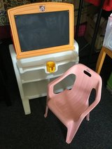 Kids easel desk with chair in Okinawa, Japan