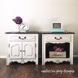 Nightstands / End Tables (set of 2) in Wheaton, Illinois
