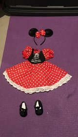 "18"" Doll or American Girl Minnie mouse outfit from Disney World in Chicago, Illinois"