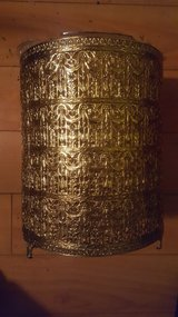 Gold Metal Wastebasket in Camp Lejeune, North Carolina