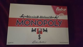 Retro Series Monopoly in Tinley Park, Illinois