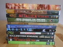 DVD LOT ACDC, METALLICA, IRON MAIDEN, MEGADETH...ETC in Ramstein, Germany