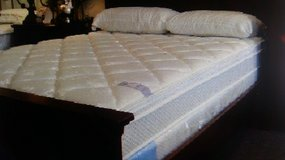 Full and Twin size Thick Pillowtop with Memory Foam Mattresses and box springs in Naperville, Illinois