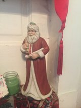Santa with pipe in Norfolk, Virginia
