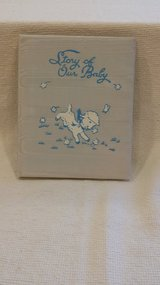 SALE - VINTAGE - 1949 - Sanitoy Blue Baby Book in Westmont, Illinois