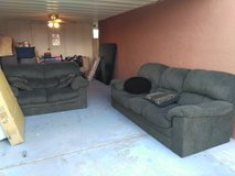 Couch and loveseat in Yuma, Arizona