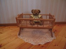 Doll Cradle, High Chair and Canopy Bed in Orland Park, Illinois