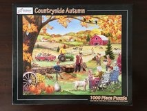 1000 Piece Jigsaw Puzzle - Countryside Autumn in Westmont, Illinois