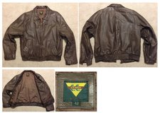 Leather Jacket, men's size 42 in Beaufort, South Carolina