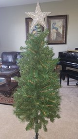Christmas tree with in New Lenox, Illinois