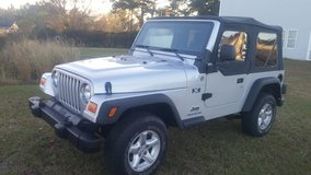 2005 JEEP WRANGLER X 4X4 in Greenville, North Carolina