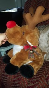 Christmas stuffed reindeer in New Lenox, Illinois