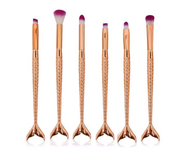 New! Rose Gold Mermaid Makeup Brushes in Fort Campbell, Kentucky
