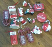Lot of 17 Collectible Coca-Cola Ornaments in Columbus, Georgia