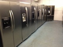 Stainless Steel Refrigerators in Camp Pendleton, California