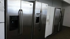Many Stainless Steel Refrigerators in Temecula, California