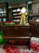 beautiful antique chest with barley twist stand in Ramstein, Germany