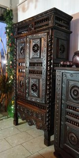 rare armoire from Brittany with ornate carvings in Ramstein, Germany
