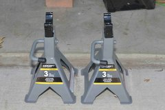 3-ton NAPA Evercraft Jack Stands (Like-New) in Glendale Heights, Illinois