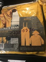 2 CLC Climate Gear rain suits (Size L) in Fort Polk, Louisiana