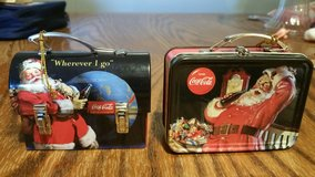 2007 Tin Lunchbox Style Coca-Cola Ornaments in Columbus, Georgia