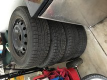 Blizzard snow tires and rims in Orland Park, Illinois