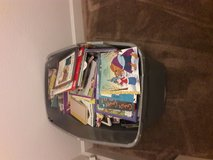 Huge bin of childrens books in 29 Palms, California