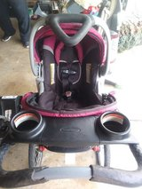 Jogging stroller with car seat and base in Fairfield, California