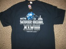 "SEATTLE SEAHAWKS XLVIII ""NFL Apparel""  Adult T-Shirts (4 sizes) *** NEW *** in Tacoma, Washington"