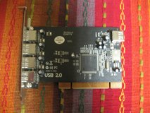 Four Port PCI 2.0 USB Card in Kingwood, Texas