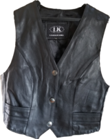 Motorcycle 100% Leather 1.1mm Vest XL in Camp Lejeune, North Carolina