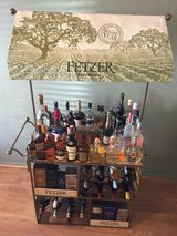 liquor bar / wine table/ wine rolling cart in Nellis AFB, Nevada