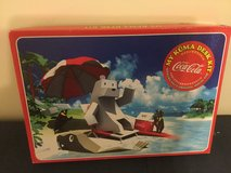 Coca Cola Japan My Kuma Desk kit Fan Mouse ++  NIB (minor long time storage discolorations) in Okinawa, Japan
