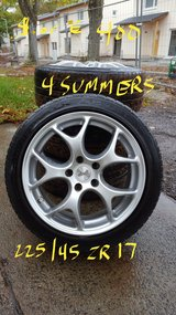 """17"""" Rims and Tires in Baumholder, GE"""