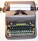 Working Vintage Heavy Smith-Corona Manual Typewriter with New Ribbon in Clarksville, Tennessee