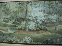 Wallpaper border golf course theme in Naperville, Illinois