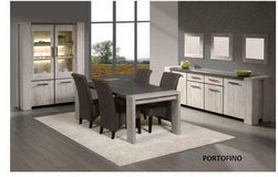 Silver City Dining Set in Portofino - China +Table +4 x Chairs + Delivery in Ansbach, Germany