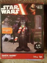 Star Wars Inflatable X-Mas Decorations (New in Box) in St. Charles, Illinois