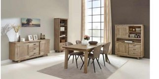 United Furniture - Retro Dining set with Bar + Table 160 + 4 Chairs + delivery in Grafenwoehr, GE