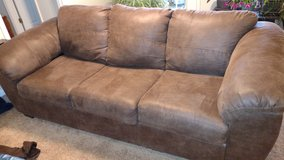 Ashley leather sofa- excellent condition! in Fort Bragg, North Carolina