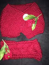Hand knit toddler cowl and headband set. in Wilmington, North Carolina