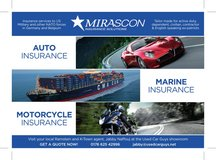 Car / Bike / Marine Insurance in Ramstein, Germany