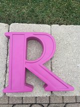 Letters that hang on wall in Naperville, Illinois