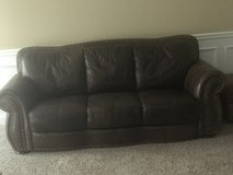 Leather couch and chair in Perry, Georgia