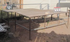 Two Heavy Duty 4' by 8 foot Utility Tables in Alamogordo, New Mexico