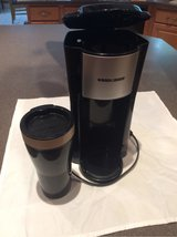 Black and Decker Single-Serve Coffee Maker w/16 oz. cup. in Alvin, Texas